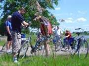 Foto von Fahrradfahrern